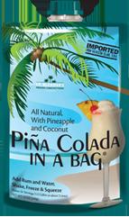 Lt. Blender's Pina Colada in a Bag